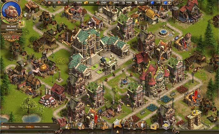 The Settlers Онлайн скриншоты и картинки