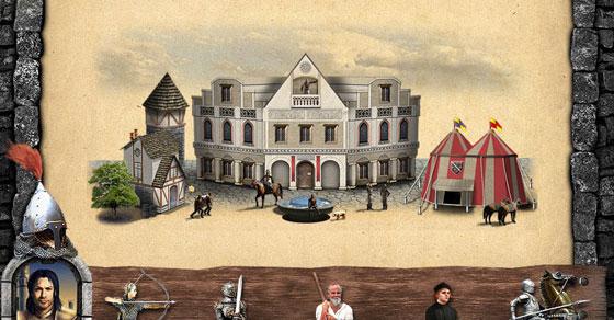 онлайн игры про средневековье