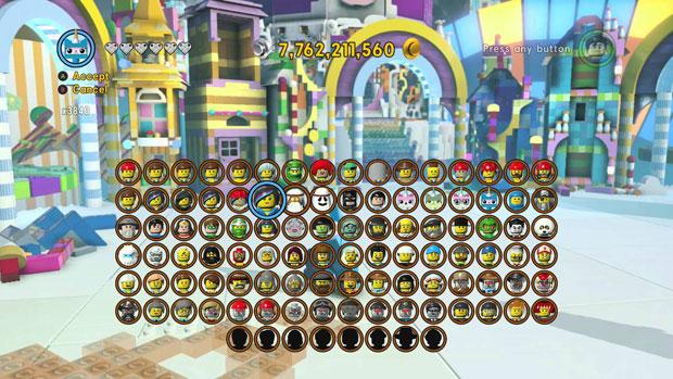 The LEGO Movie Videogame разблокировка героев