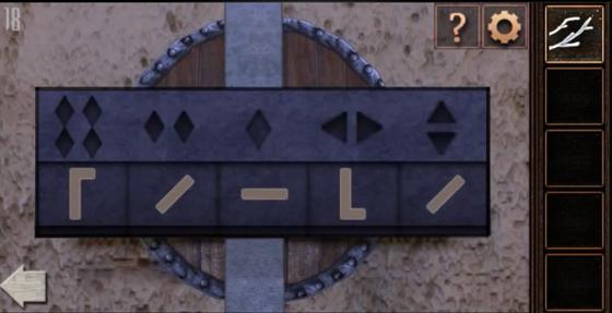 Правильно расставляем символы чтобы достать щит