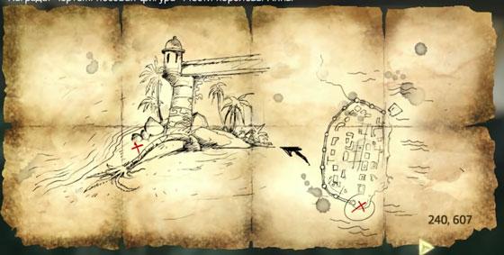 Карты сокровищ и закрытые сундуки в Assassin's Creed 4 Black Flag