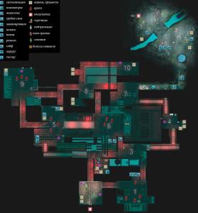 Карта туннели Хайпула