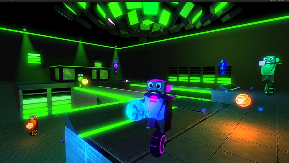 Robot-Roller-Derby-Disco-Dodgeball