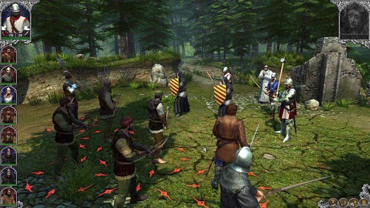 пошаговые игры про средневековье