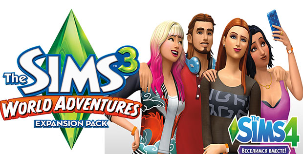 The-Sims-3-и-4-0