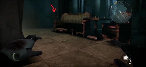 сейф в особняке барона